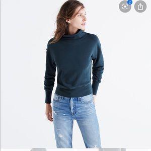 Madewell Rivet and Thread Turtleneck Sweatshirt